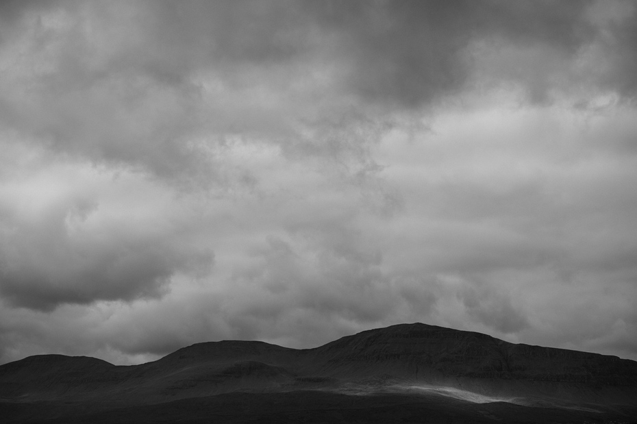 Minimalist Scottish Landscape