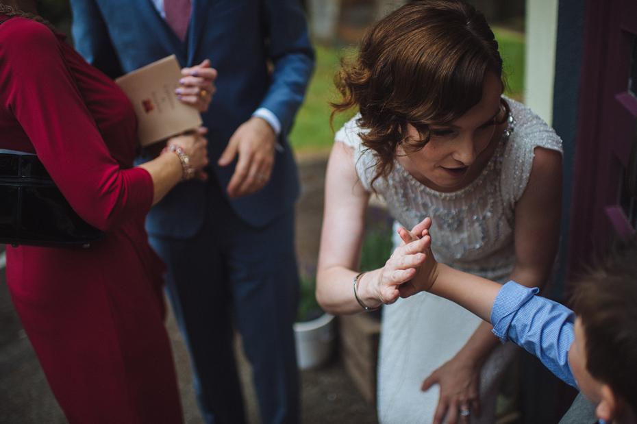 Wedding High Five