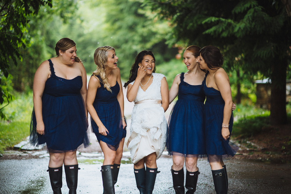Bridesmaids Hunter Boots