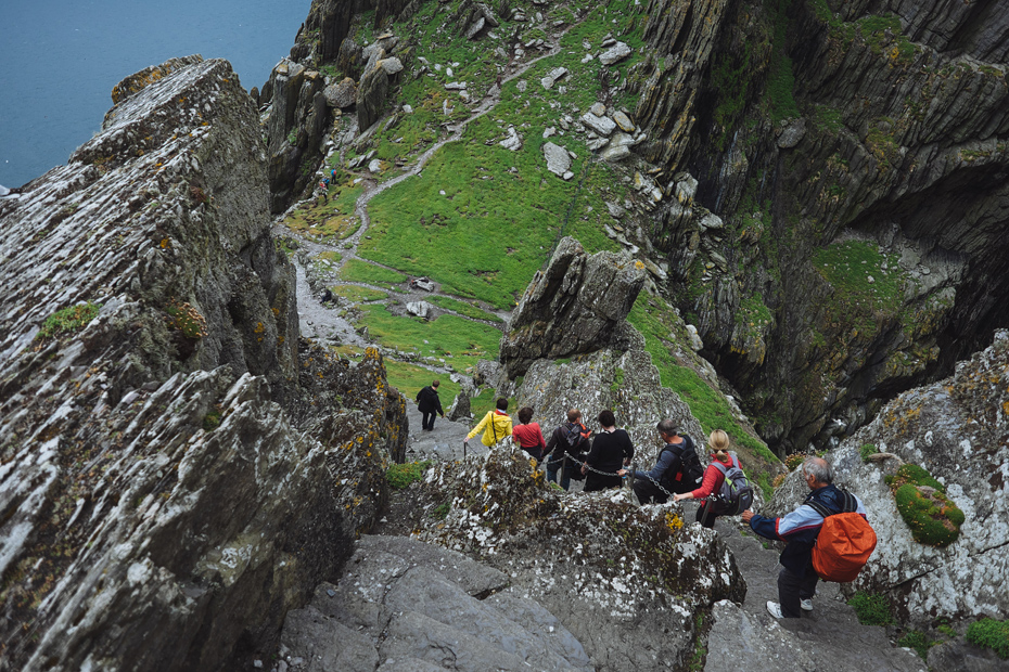 Skellig Michael Stairs