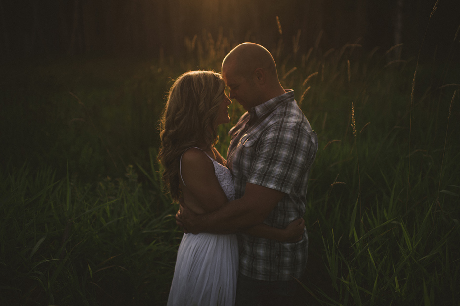 Golden Light Couple Portrait