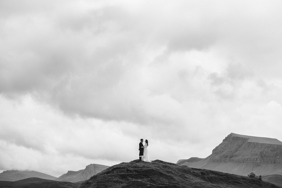 The Quiraing Wedding Photos