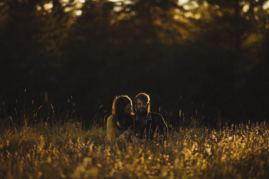 Golden Hour Couple Portrait