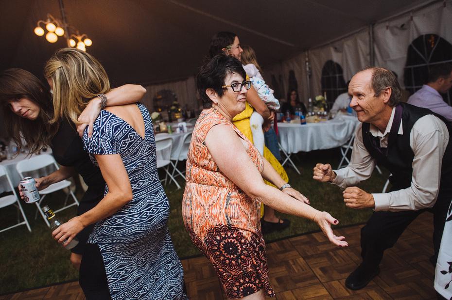 Tent Wedding Dance