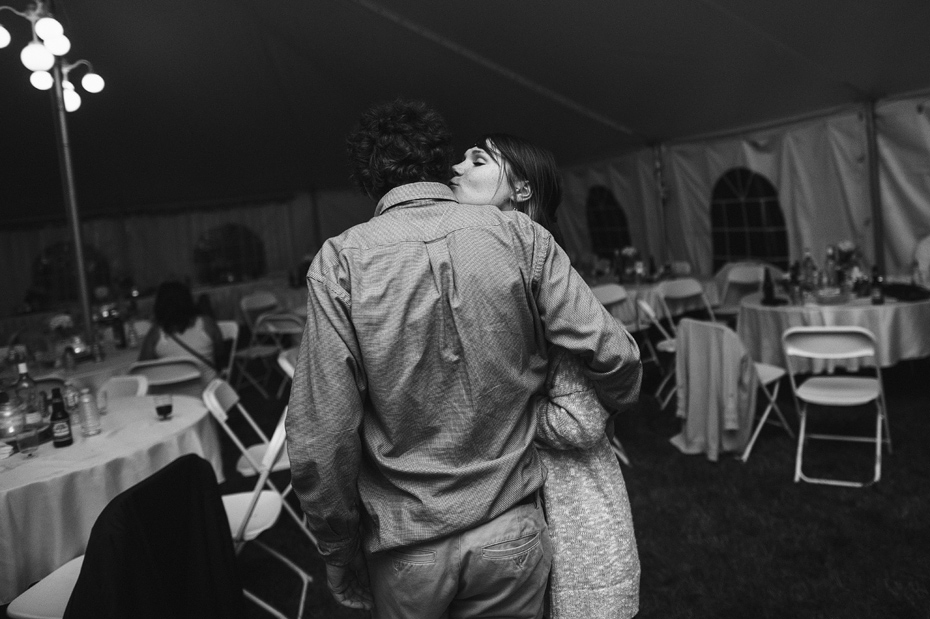 Tent Wedding Dance