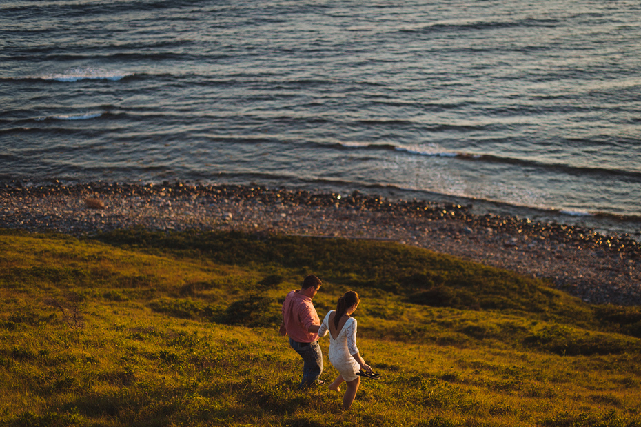 Lawrencetown Beach Engagement Photos