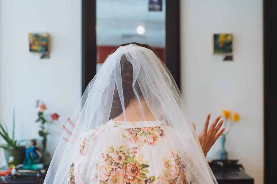 Bride Excitement