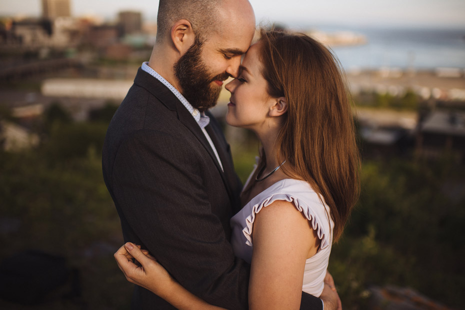 Fort Howe Engagement Photo