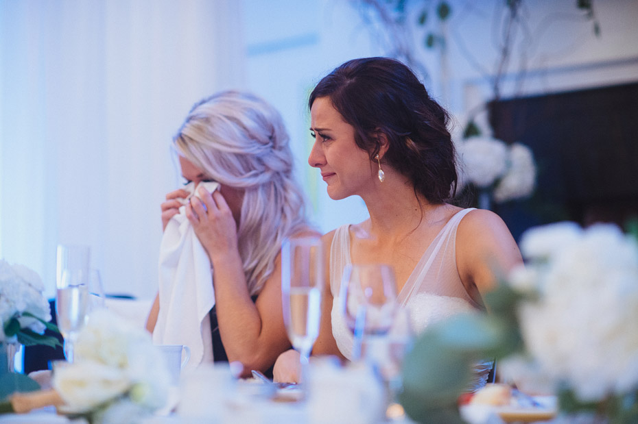 Emotional Wedding Reception
