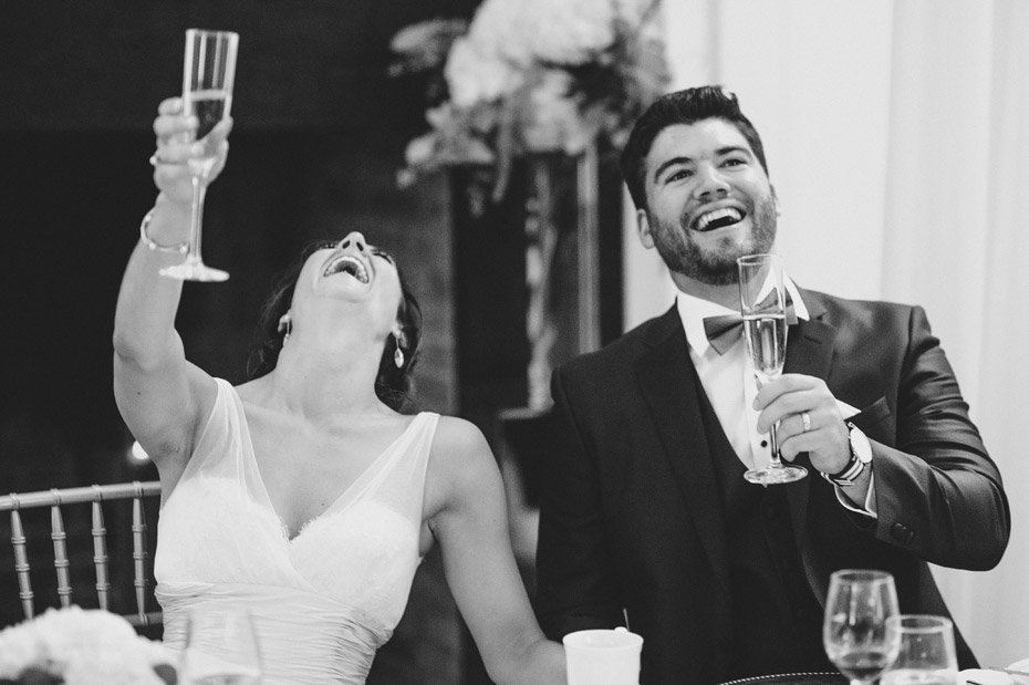 Bride & Groom Laughing