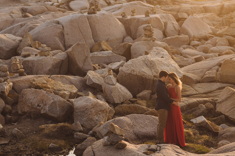 Peggys Cove Engagement