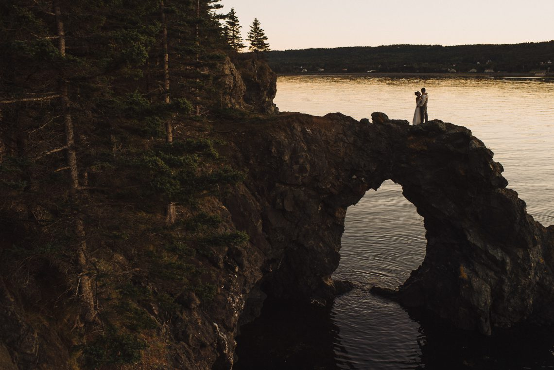Amber & Chris – Grand Manan Elopement