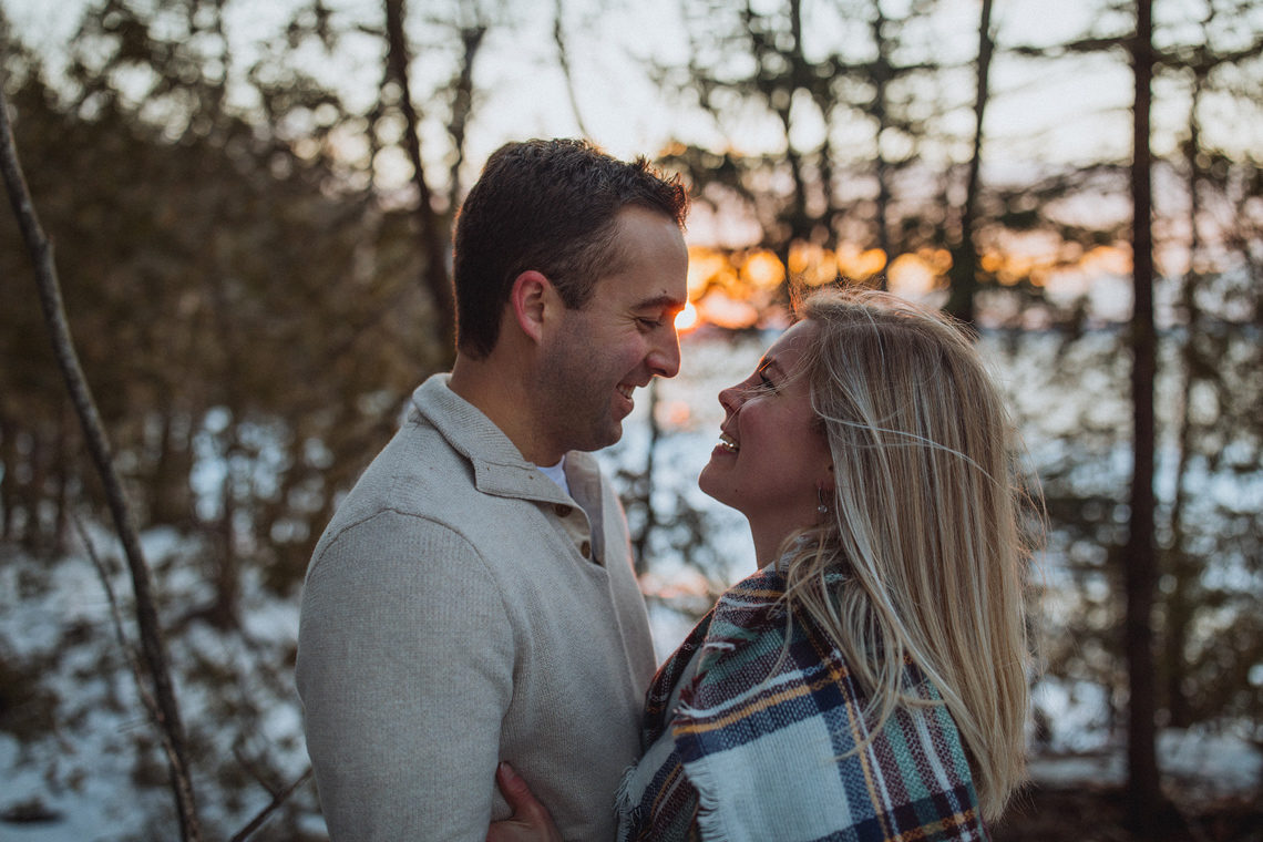 saint john engagement session