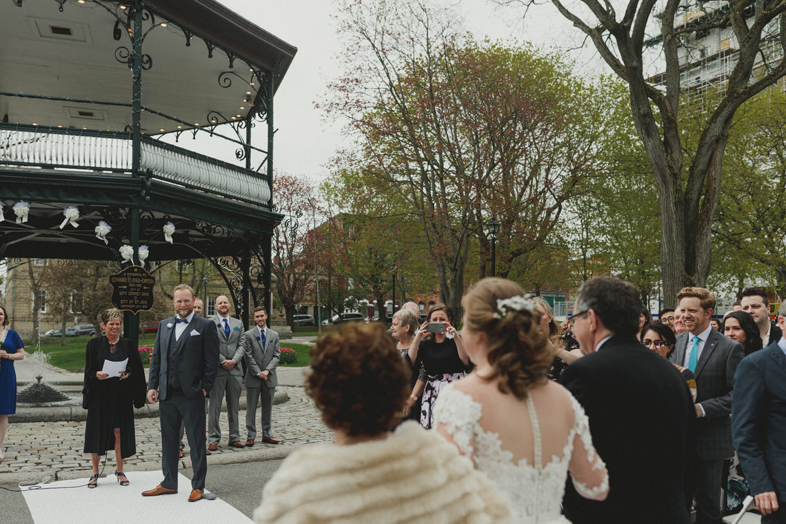 Saint John Marina wedding
