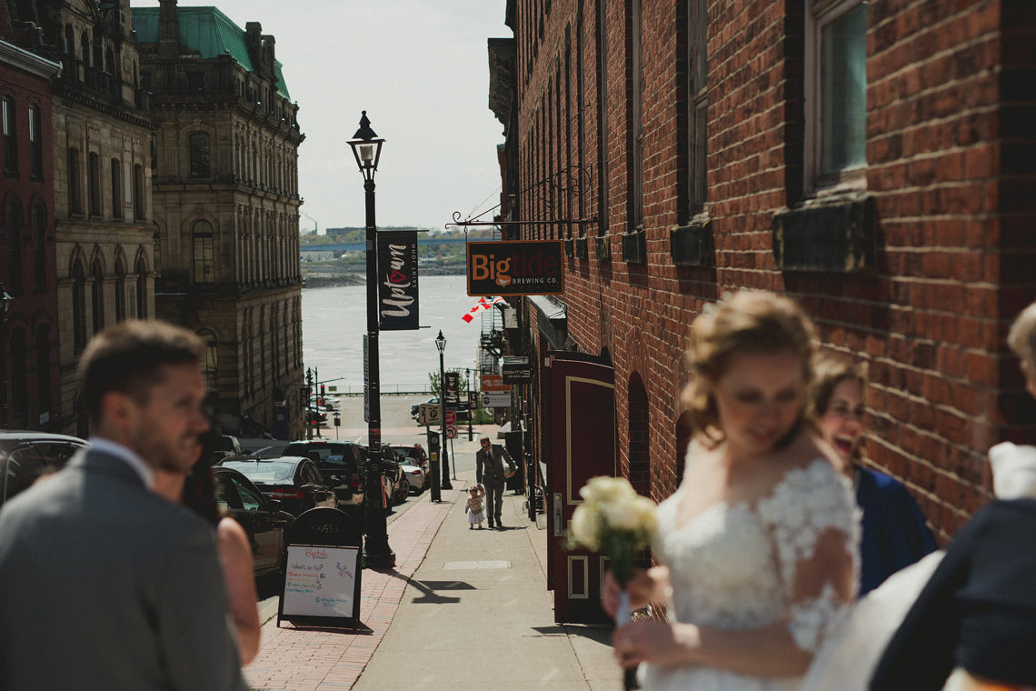 Kings Sqaure wedding uptown Saint John NB