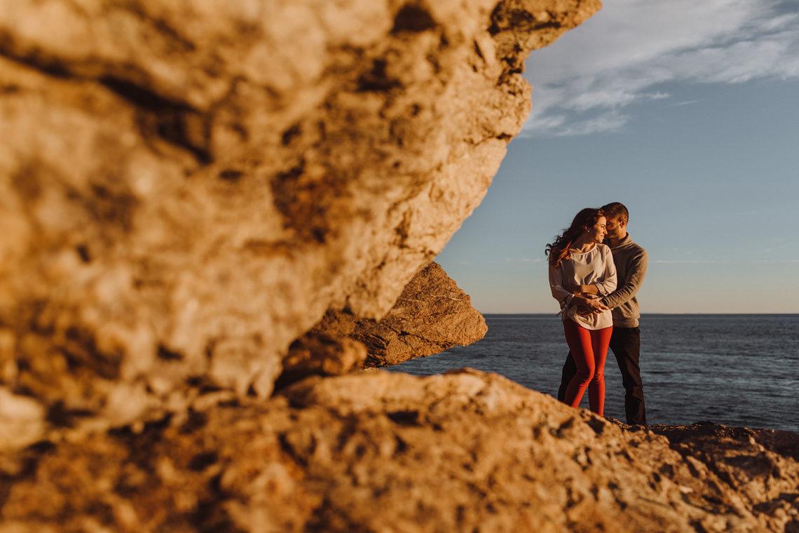 cape spencer engagement photos